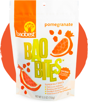 Pomegranate Baobites Fruit Snack
