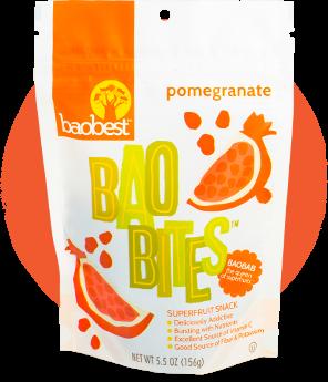 Pomegranate Baobites Fruit Snack