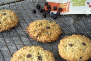 Pomegranate Baobab Chocolate Chip Cookies