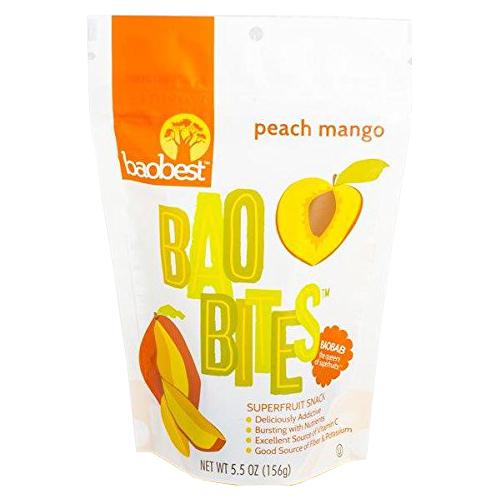 Peach Mango BaoBites - 5.5 Oz bag
