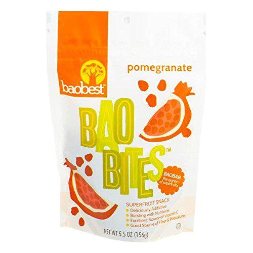Pomegranate BaoBites 5.5 oz. Bag