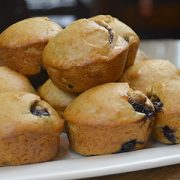Tasty vegan blueberry and baobab muffin recipe