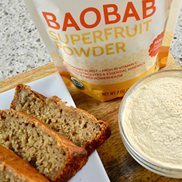 Baobab Banana Bread - Baobab Recipe