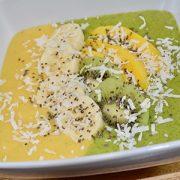 Vegan Baobab Mango Smoothie, perfect for summer!