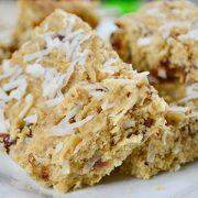 Gluten Free Recipe - Baobab Lemon and Coconut Bars